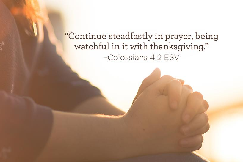thumbnail image for Continue Steadfastly in Prayer