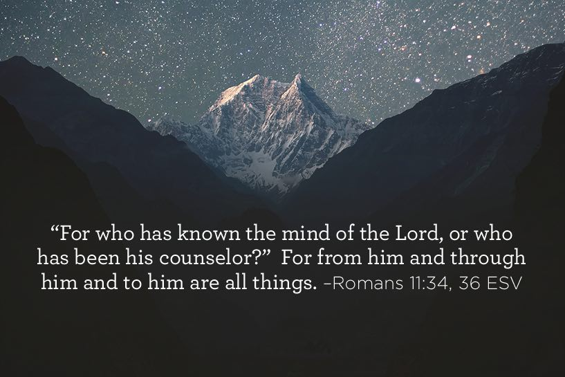 thumbnail image for Who Has Known the Mind of the Lord?