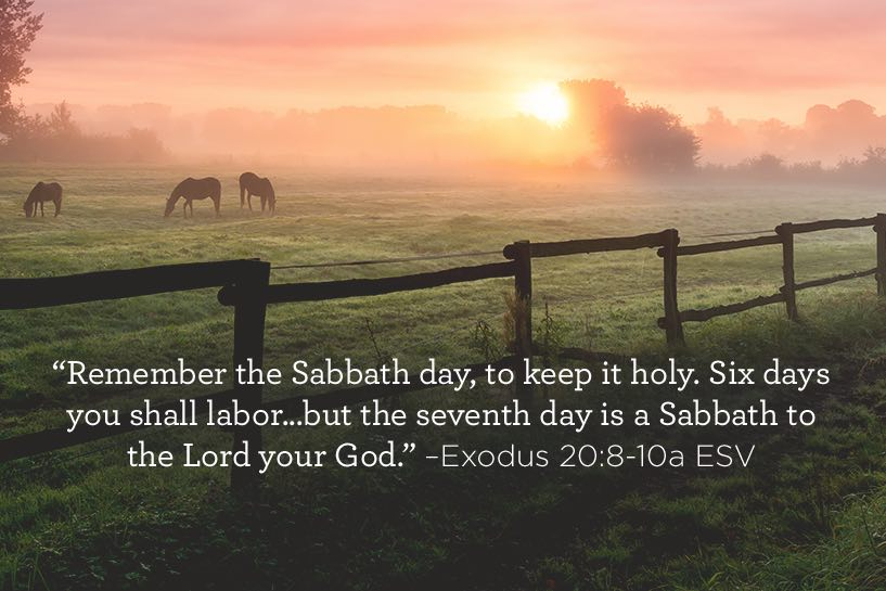 thumbnail image for Remember the Sabbath Day