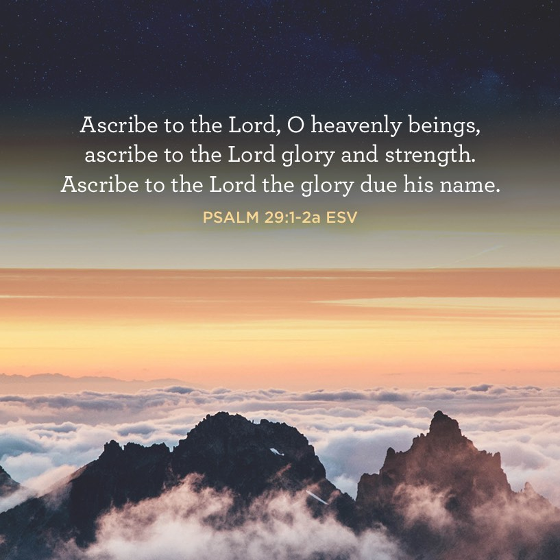 thumbnail image for Ascribe to the Lord