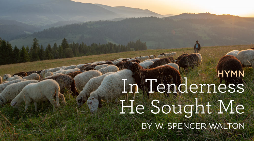 In Tenderness He Sought Me