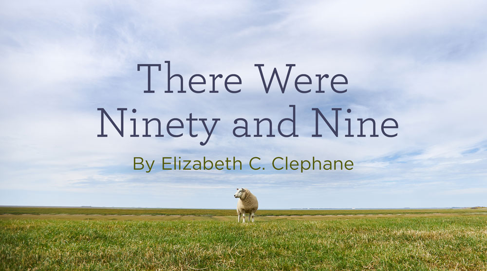 """thumbnail image for Hymn: """"There Were Ninety and Nine"""" by Elizabeth C. Clephane"""