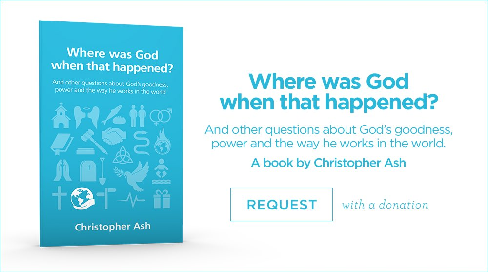 thumbnail image for Do you ever wonder why God lets bad things happen?