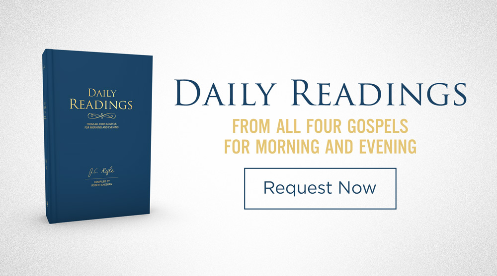 Daily Readings from All Four Gospels For Morning and Evening