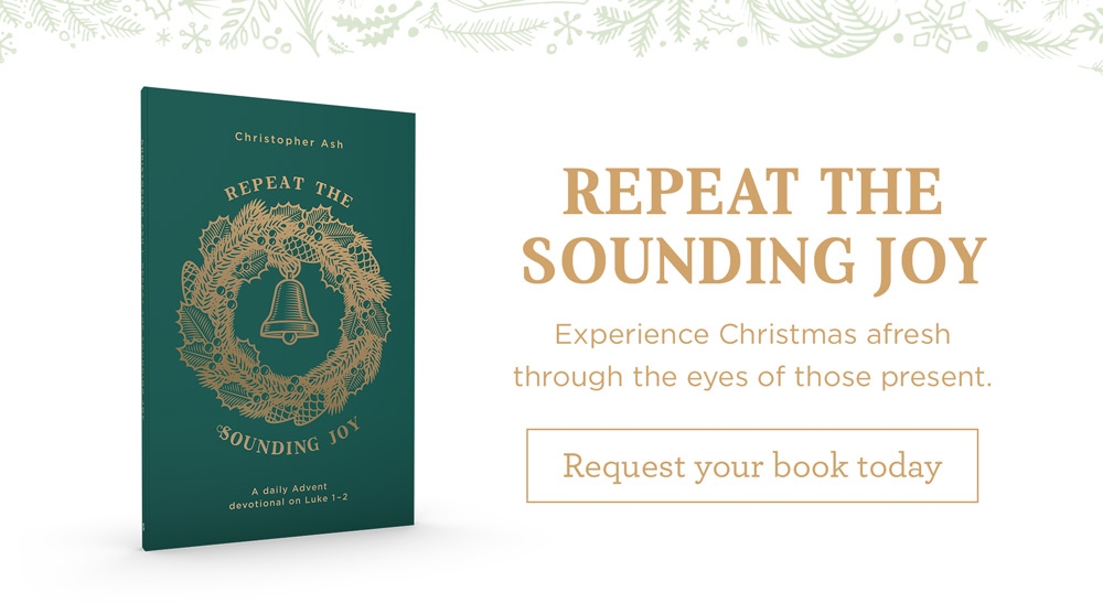 "thumbnail image for Discover Christmas Afresh through ""Repeat the Sounding Joy"""