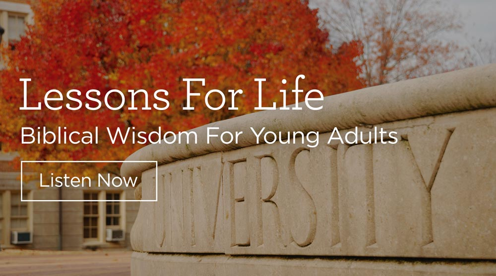 "thumbnail image for Download (Free) ""Lessons for Life: Biblical Wisdom for Young Adults"""