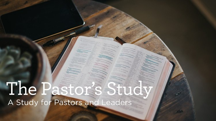 "thumbnail image for Download (Free) - ""The Pastor's Study"" - A Study For Pastors and Leaders by Alistair Begg"