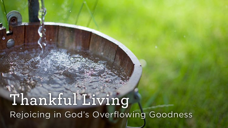 thumbnail image for Download (Free) - Thankful Living - Rejoicing in God's Overflowing Goodness