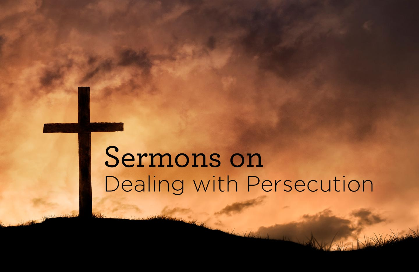 thumbnail image for Sermons on Dealing with Persecution