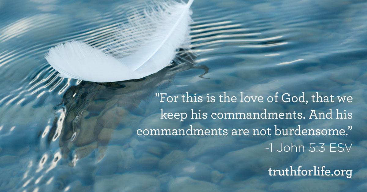 thumbnail image for Keep His Commandments : Wallpaper