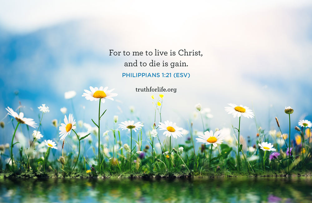 thumbnail image for To Live Is Christ: Wallpaper