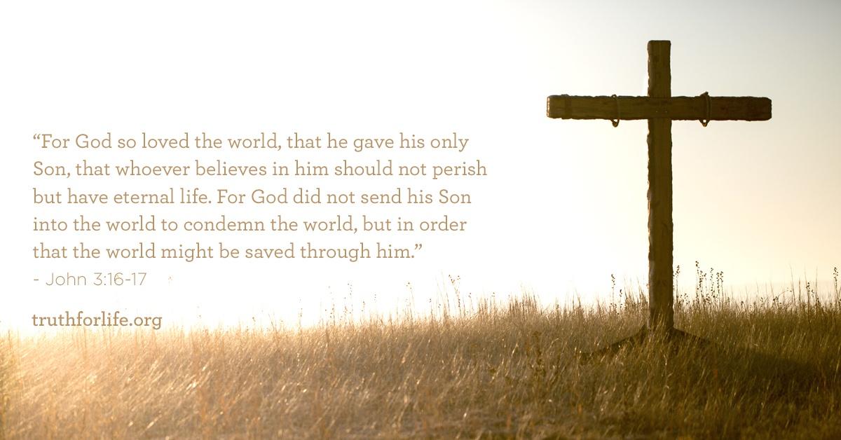 thumbnail image for For God so Loved the World : Wallpaper