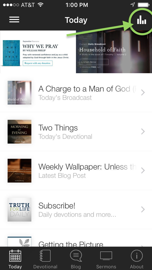 thumbnail image for Truth For Life App Update: October 2015